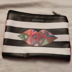 Sephora Makeup Cosmetic Bag NWOT